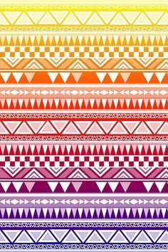 Simple Aztec Patterns To Draw Easy