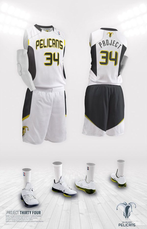 New Orleans Pelicans Rebrand Basketball Uniforms Design