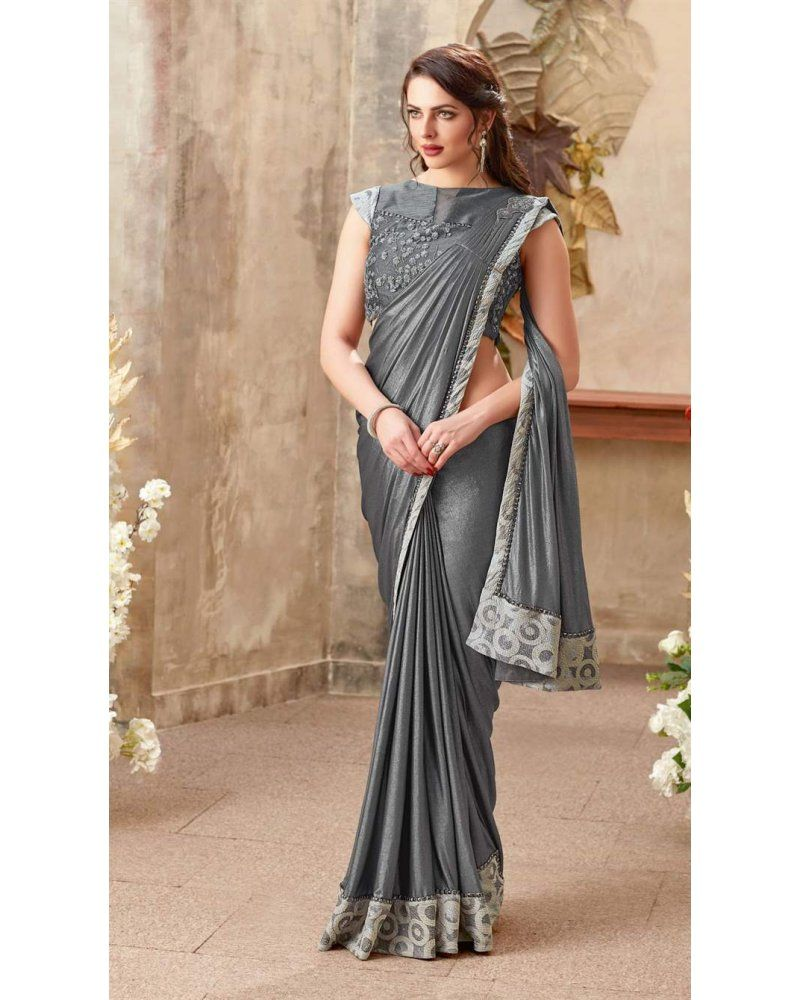6c9118a55f MohManthan Mariposa Readymade Designer Saree-5010 in 2019 ...