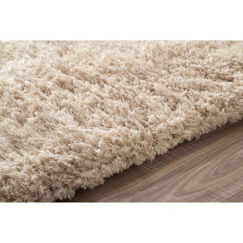 Tan Shag Rectangular: 8 Ft. 6 In. x 11 Ft. 6 In. - (In No Image Available)