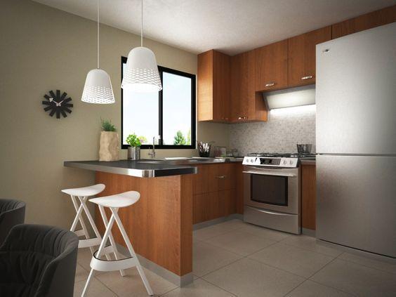 Ideas para decorar una cocina pequeña   Cacti