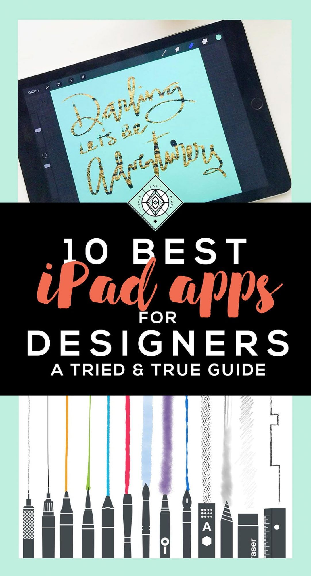 10 Best iPad Apps for Designers | Ipad art, Ipad, Ipad pro ...