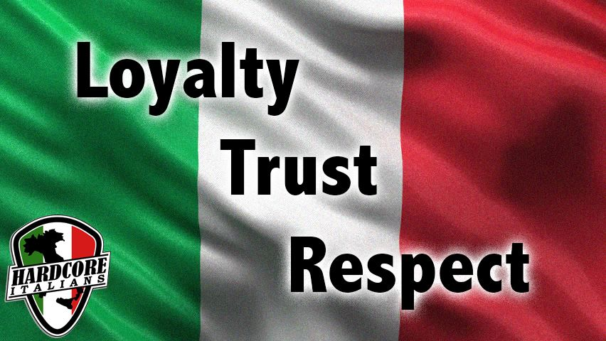 Being Italian is about loyalty, trust, and respect 💯 | Italian ...