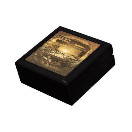 Aircraft carrier George HW Bush Jewelry Box diy cyo customize