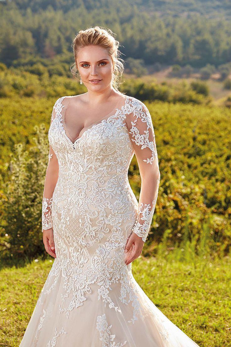 UR103   Eddy K Bridal   Plus Size Brautkleid – Tamtamtamtam… – #Brautkleid #…