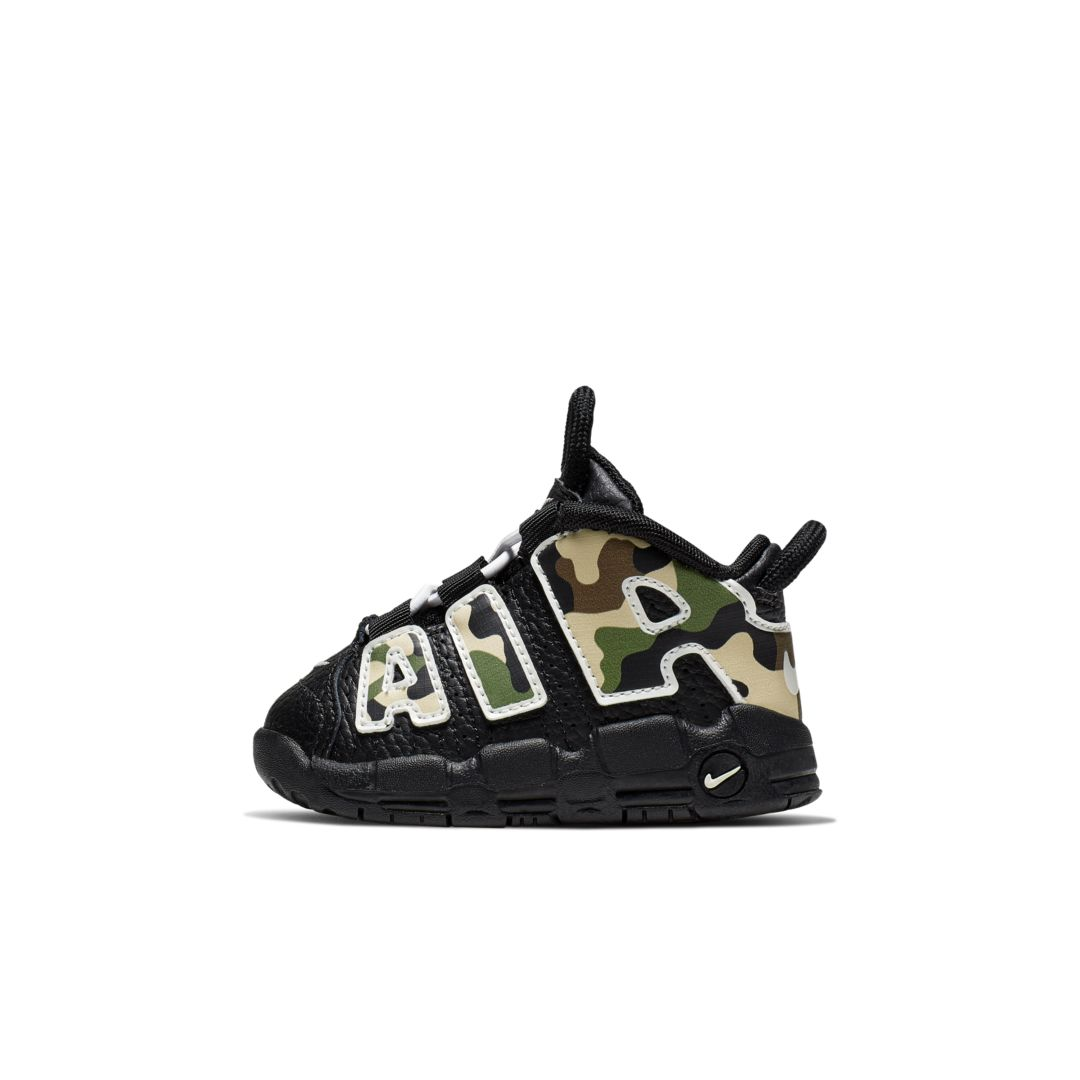 Nike Air More Uptempo QS BabyToddler Shoe Size 6C (Black