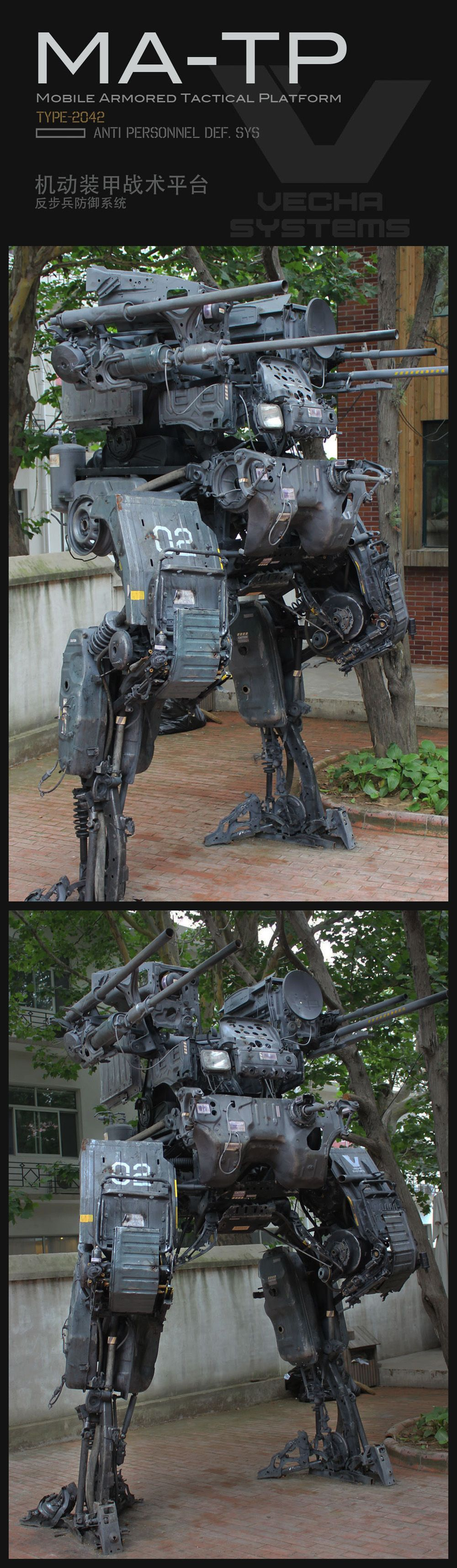 This Awesome Mech Used To Be Just A Normal, Everyday Truck
