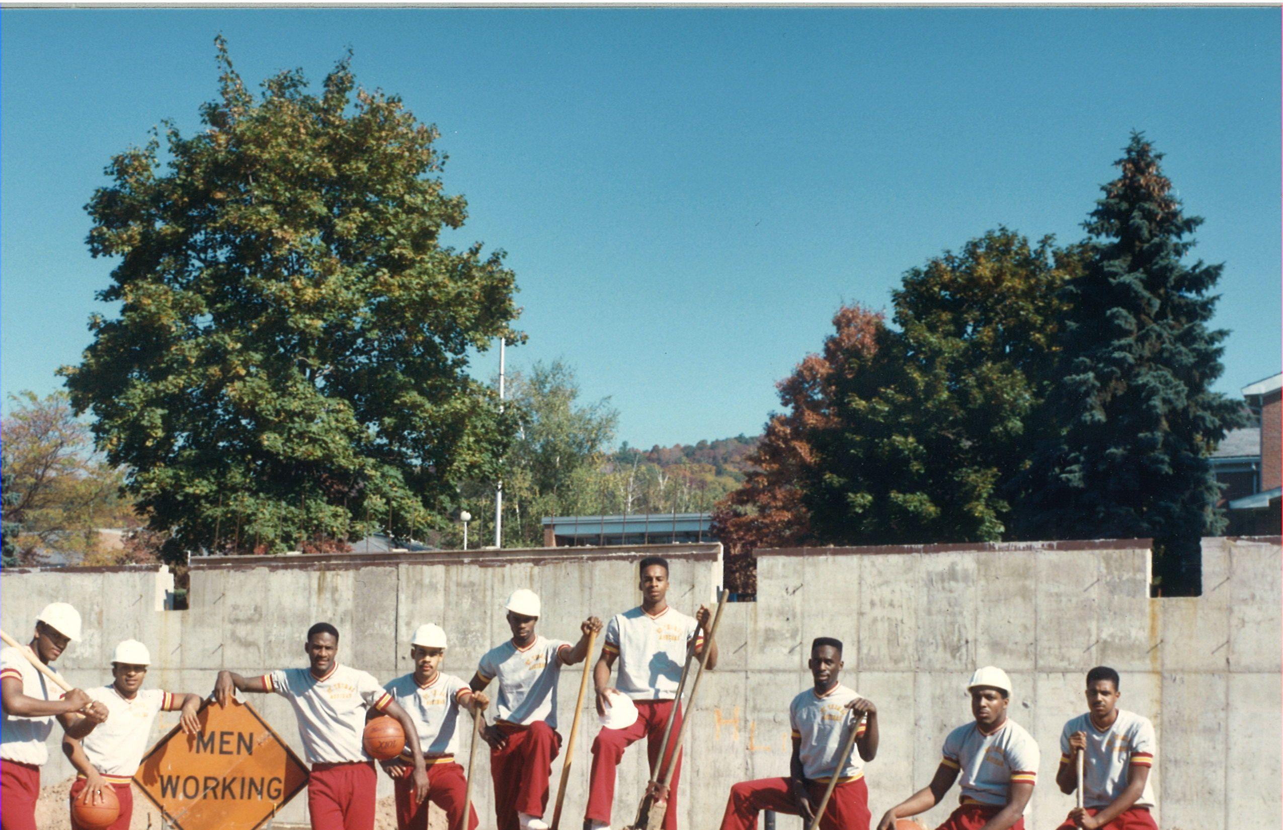 Basketball team at work basketball teams basketball