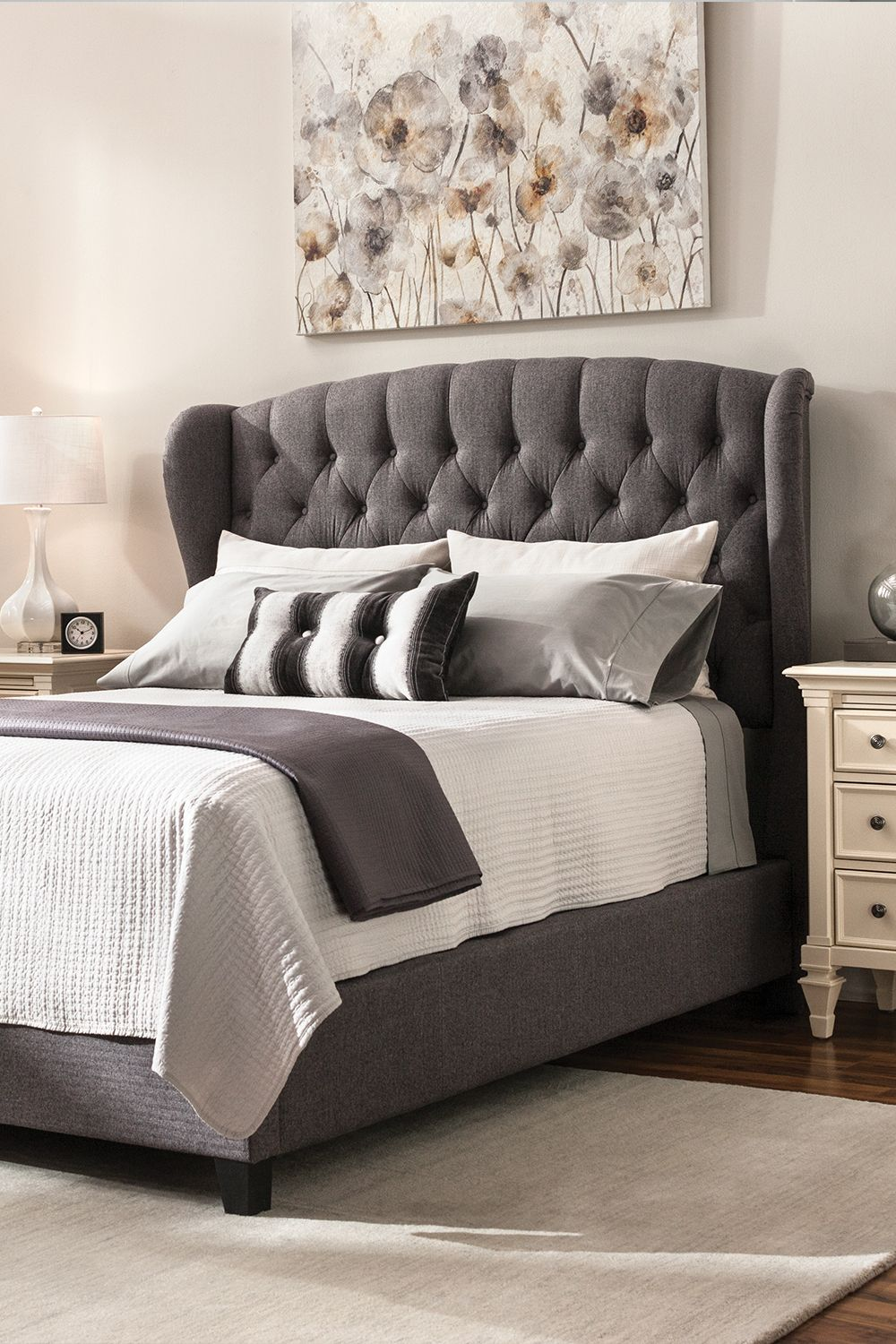 Add Style To Your Bedroom With This Begley Queen Bed The Frame Is