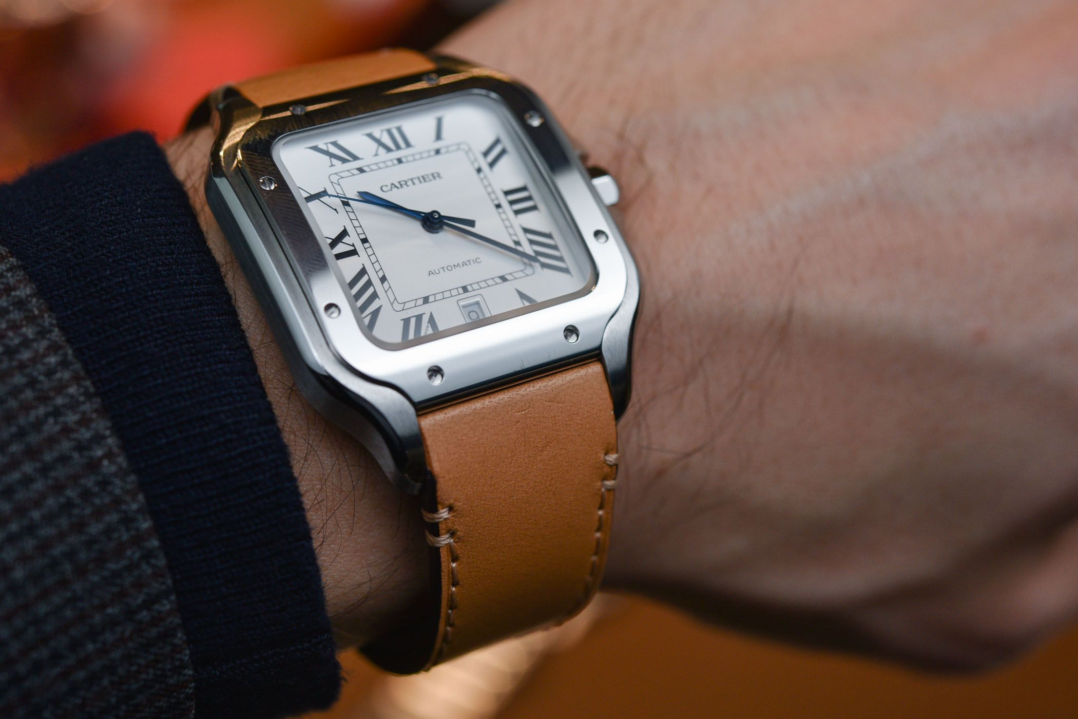 Hands-On with The 2018 Cartier Santos Large Size (Specs ...