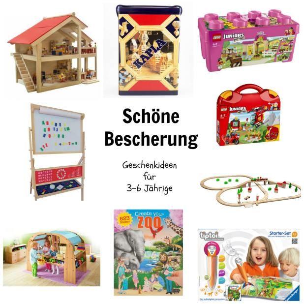 sch ne bescherung geschenkideen f r 3 bis 6 j hrige tipps f r baby kleinkinder u familie. Black Bedroom Furniture Sets. Home Design Ideas