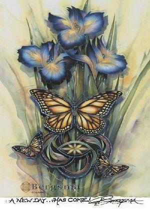 Bergsma Butterfly Magnet from Butterfly Buzz.
