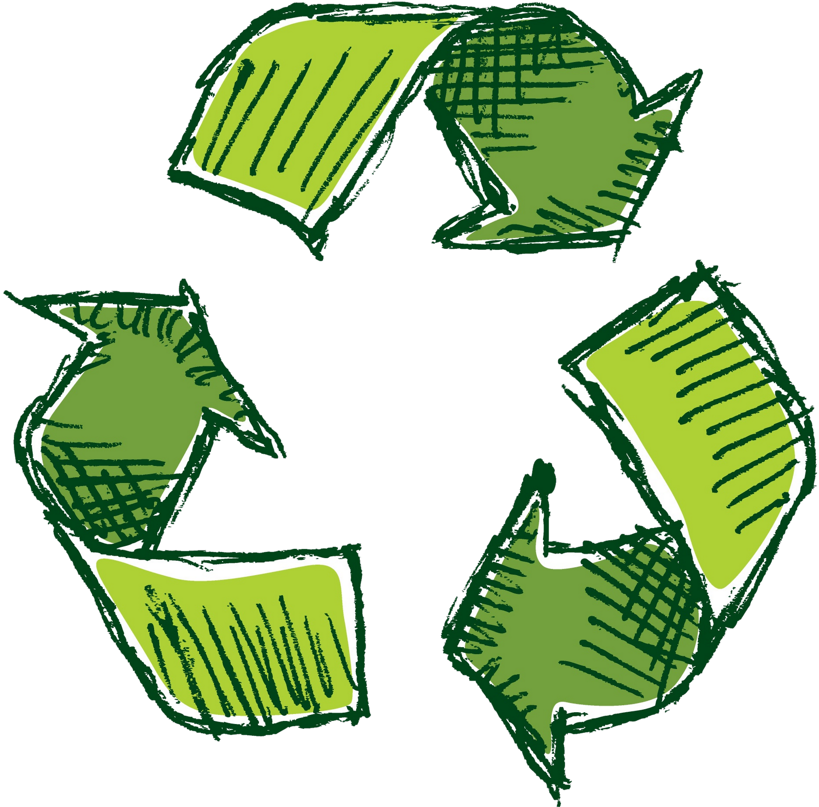"""Recycle STENCIL 6/"""" Symbol Go Green Eco Living Reuse Reduce U Paint Signs Bins"""