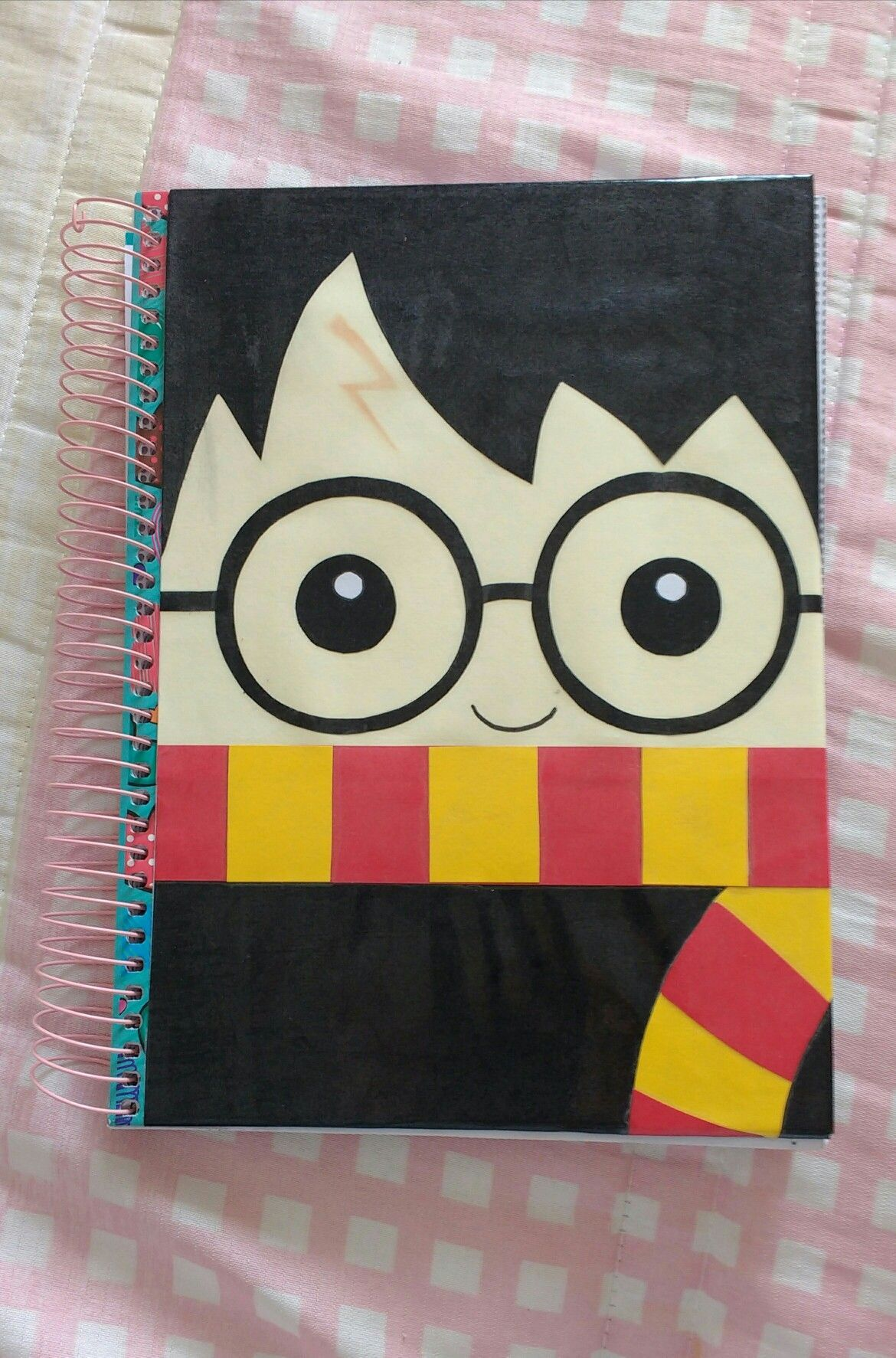 DIY Caderno Harry Potter