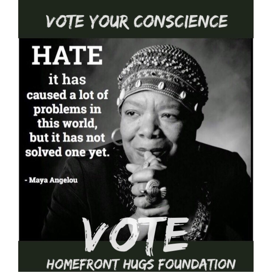 Pin By Homefront Hugs Foundation On Vote Vote Foundation Solving
