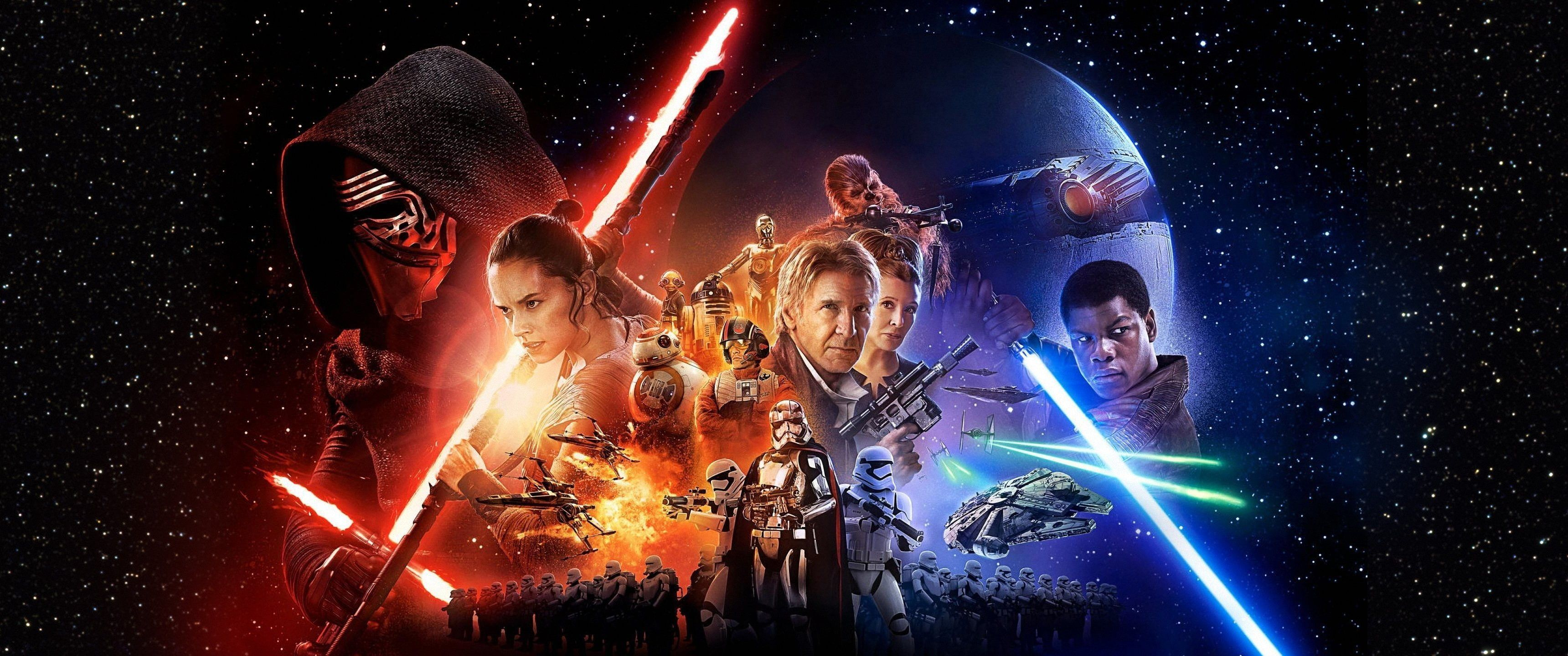 3440x1440 Px Action Adventure Awakens Disney Fi Fighting Force Futuristic Sci Star Wars 2k Wallpaper Hdwa Star Wars Wallpaper Star Wars Wallpaper