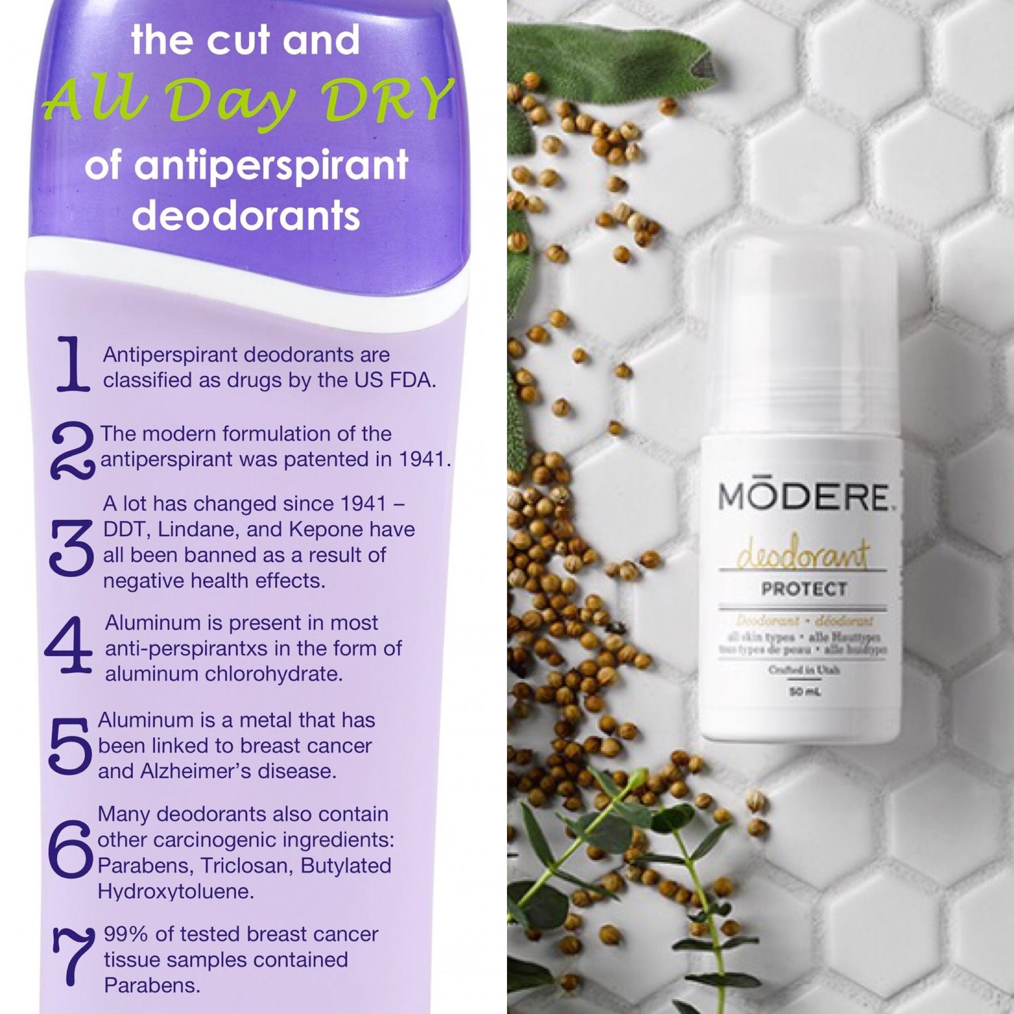 6db12c97db What s in your deodorant  This is my all time favourite clean deodorant!  Only  8.99 order today and get  10 off at modere.ca  referralcode 407902