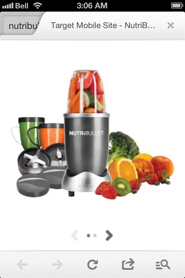 I love this, great for juicing and it's compact size doesn't take up valuable counter space.