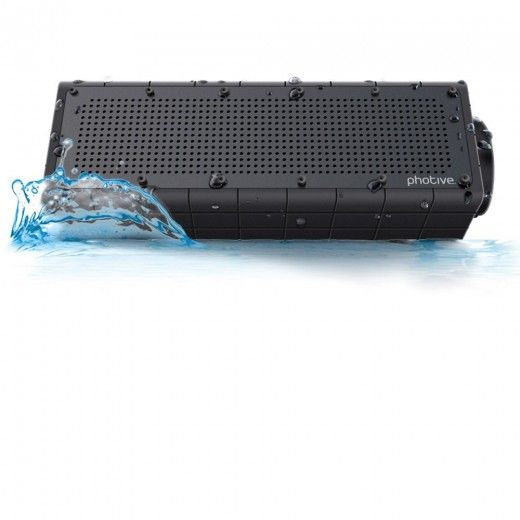 Photive HYDRA Rugged, Portable, Water Resistant, Shockproof