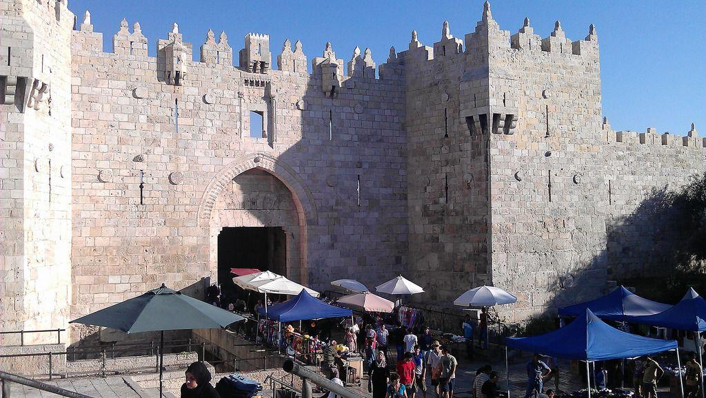 Damascus Gate Old City Jerusalem Jerusalem Israel Travel Architecture Ancient Egipto Tierra Tierra Santa