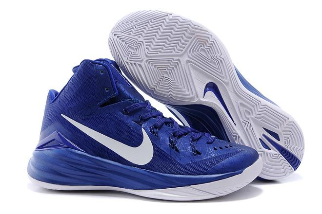 New Hyperdunk 2014 Nike Brand Training Shoes for Men - Color: Violet/Photo  Blue