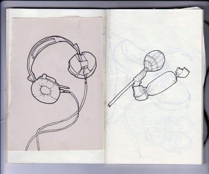 little sketchbook by Daphne van den Heuvel
