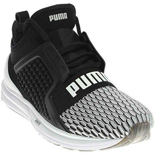 3864eca2d28 Puma Mens Ignite Limitless Hi-Tech Colorblock Shoes