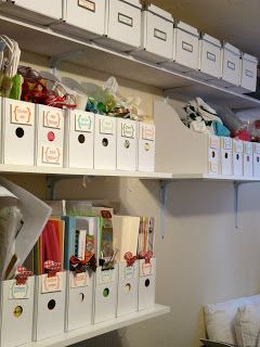 Great organization for craft area...