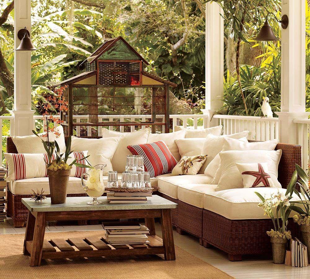 Heartwarming pottery barn living room interior ideas