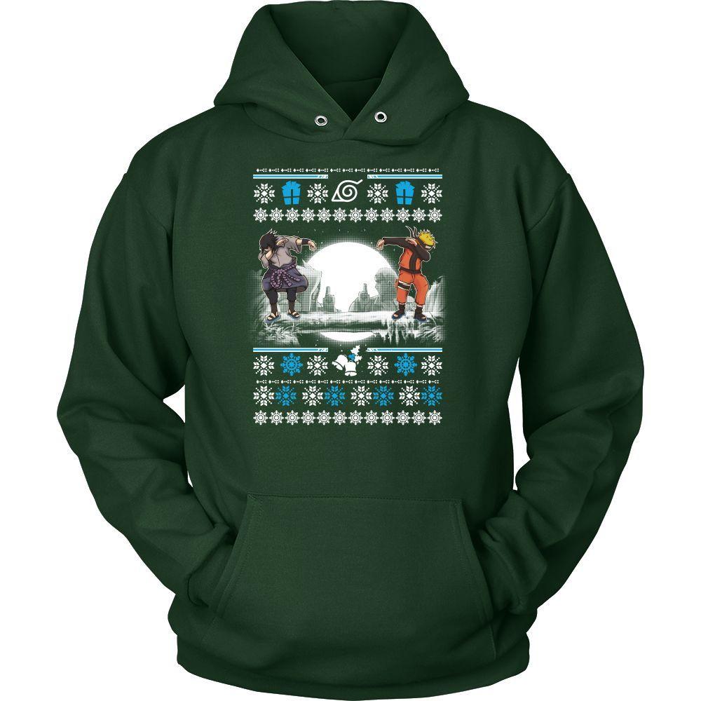 Naruto - SASUKE DAB UGLY CHRISTMAS SWEATER - Unisex Hoodie T Shirt ...