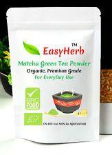 70g easyherb ™ Orgánico Matcha polvo de té verde, Premium, BRC de seguridad alimentaria Certificado