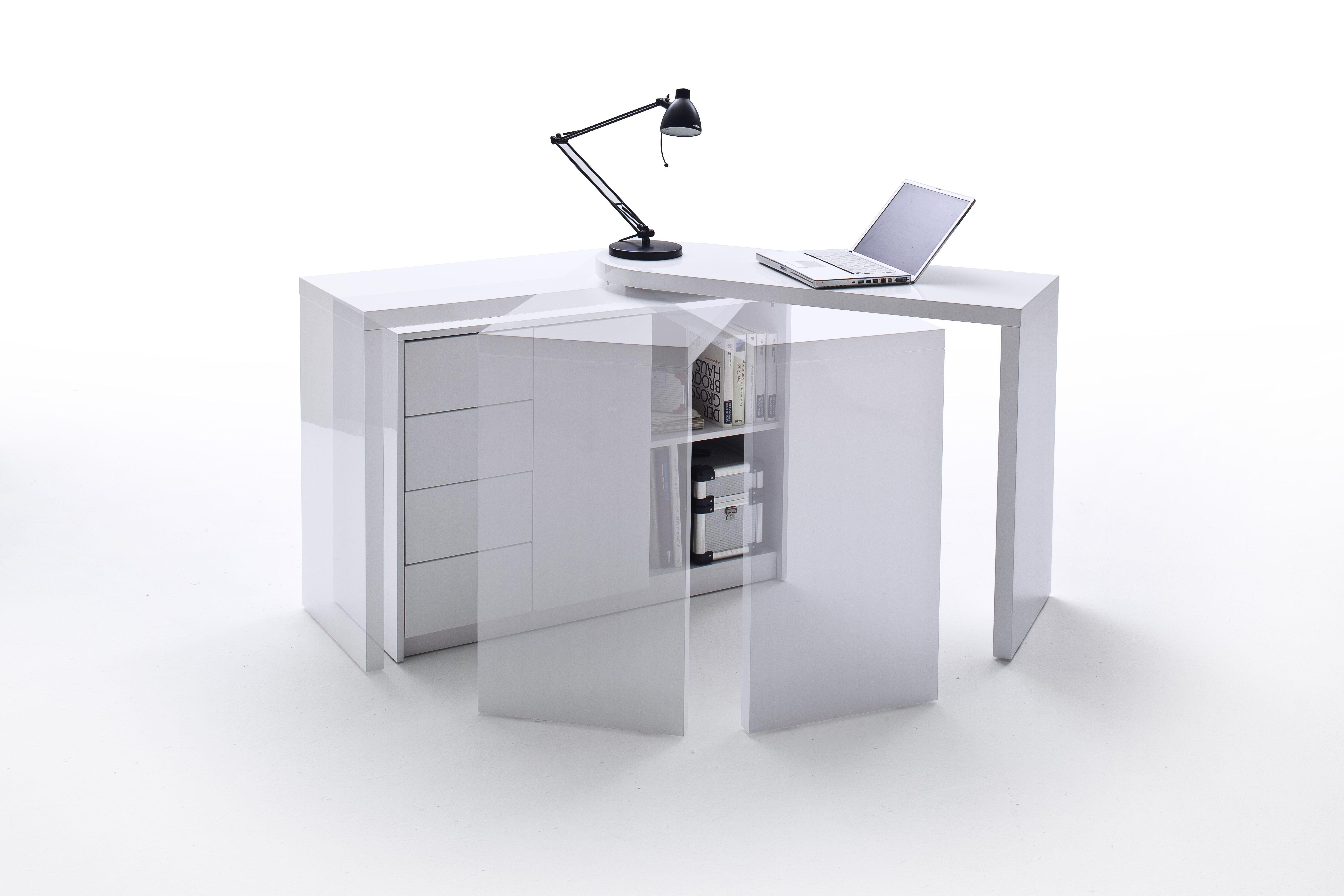Eckschreibtisch weiß matt  Weiße Sitzbank Bianco #weiß #möbel #flur #sitzbank … | Pinterest