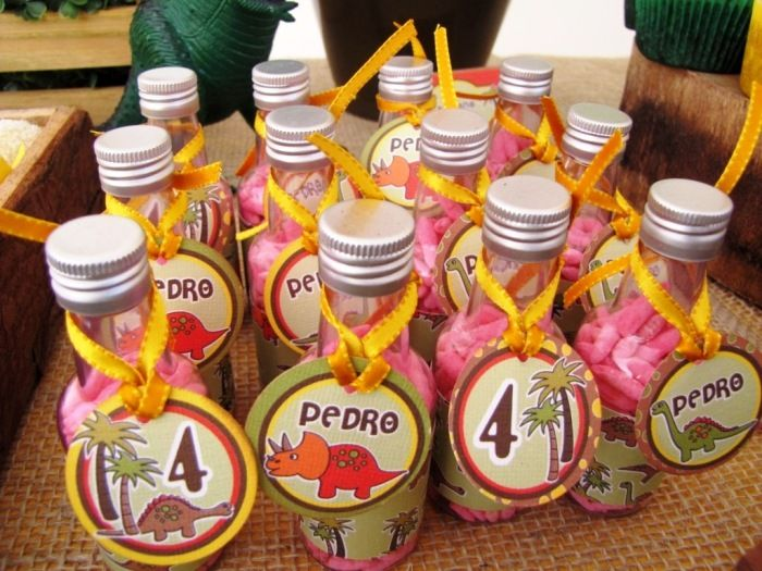 A Dinosaur 4th Birthday Party Dinosaur party favors Party favour