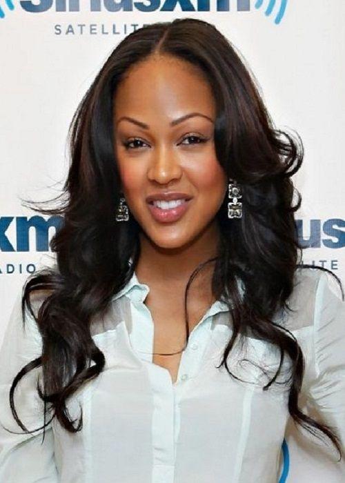 Meagan Good Franklin Hairstyles Pinterest Wavey Hair Hair