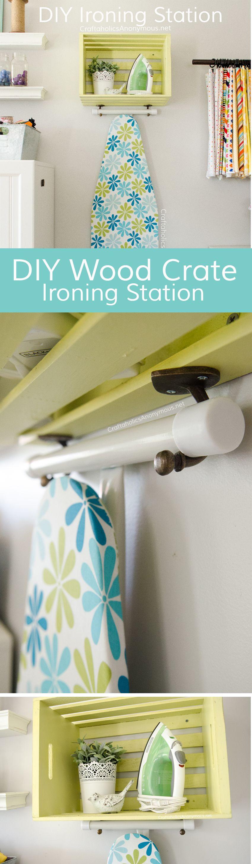 Diy Ironing Station Behrbox Challenge Reveal Ironing