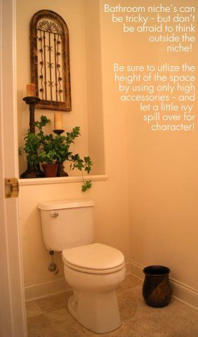 How To Decorate A Bathroom Niche Professionalstaging Com Decor