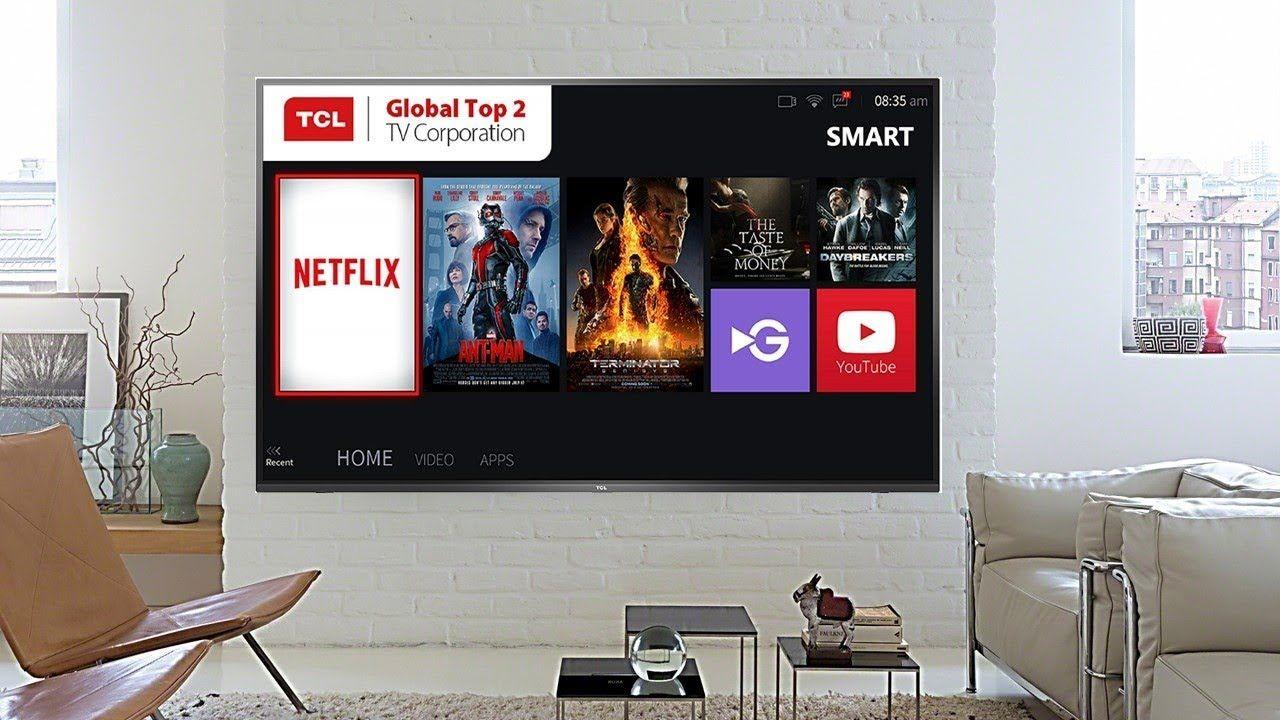 Tcl 43 Inch 4k Ultra Hd Smart Led Tv 43p65us Led Tv Tv Built