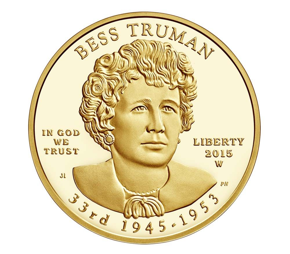 World Coins Gold Coins Silver Coins Coin Collecting As An Investment Bess Truman 2015 10 Dollars First Spouse Gold C Coins Gold Coins Gold Bullion Coins