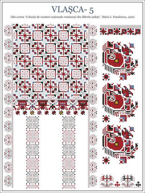 Semne Cusute | Embroidery: Rushnik | Vishivanka | Pinterest