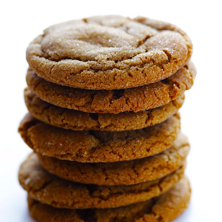 Chewy Ginger Molasses Cookies -