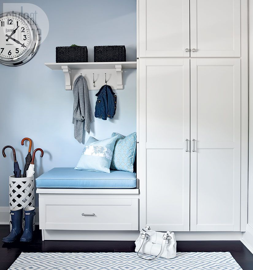 Cute & Practical—While we love entryways with a little bit ...