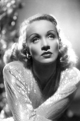 Marlene Dietrich Portrait Poster Glamorous Luminous Rare Beauty 24x36 Marlene Dietrich Old Hollywood Stars Classic Hollywood