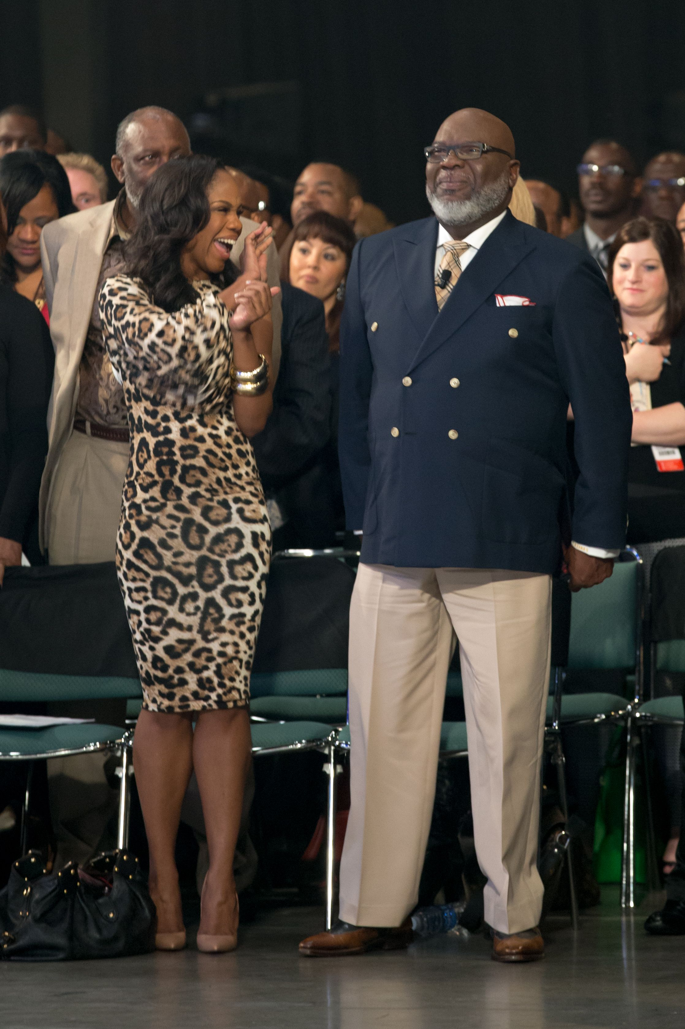 Sarah Jakes and Bishop T D  Jakes | 2014 Pastors and Leadership