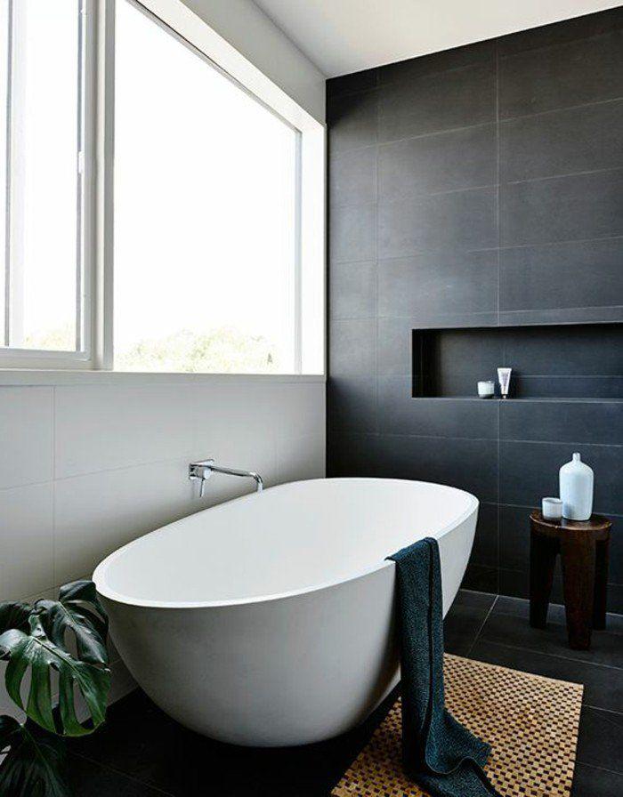 quelle couleur salle de bain choisir 52 astuces en photos baignoire ovale rotin et baignoires. Black Bedroom Furniture Sets. Home Design Ideas