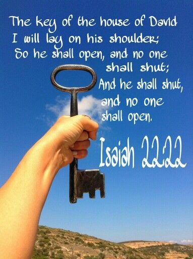 Isaiah 22:22   Book of isaiah, Isaiah, Christian facebook cover
