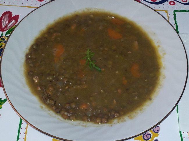 Lentejas Estofadas Dieta Mediterranea Recetas Comida Mediterránea Lentejas