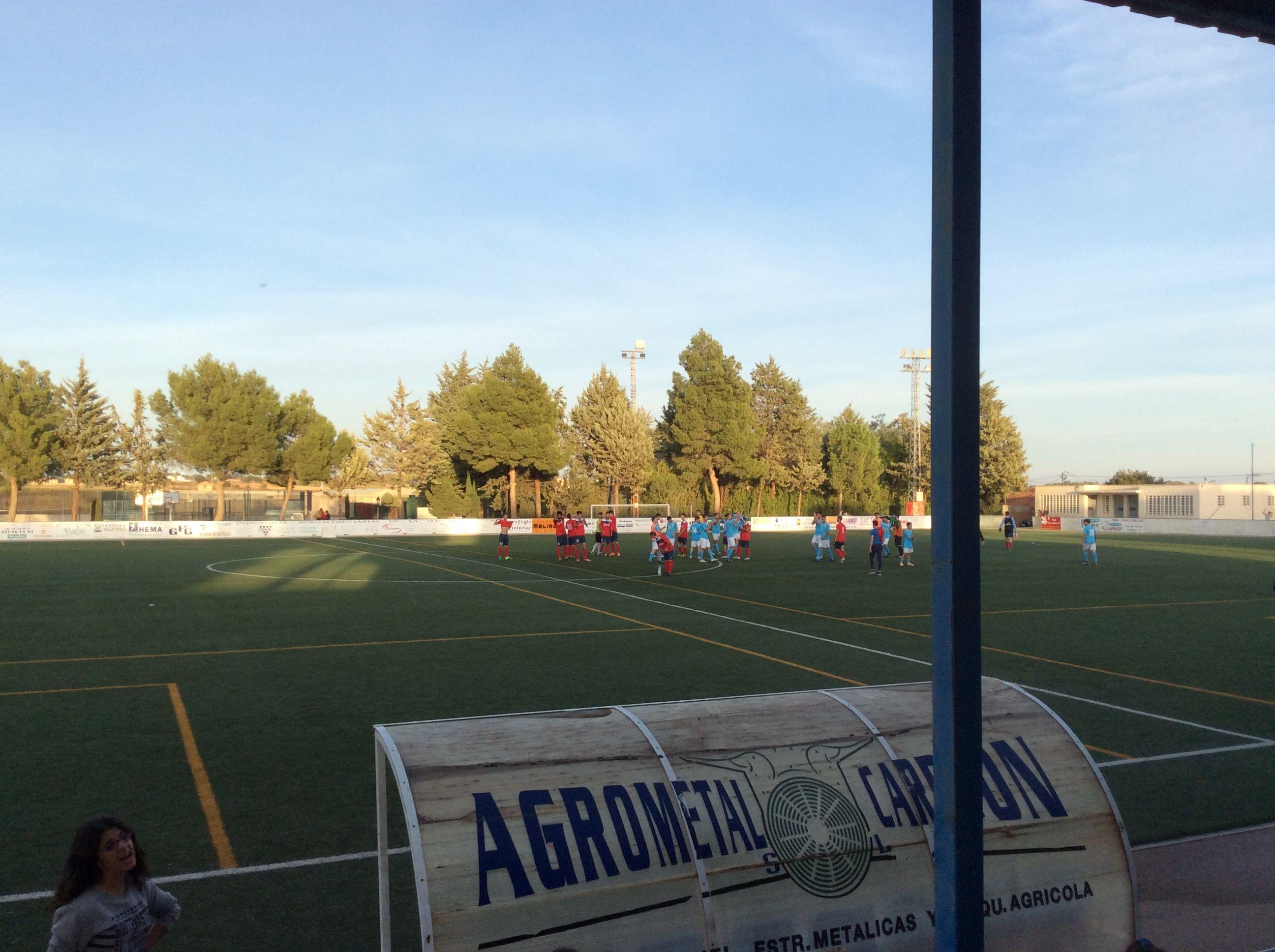 Final de partido U. D. Villamalea - U. D. La Fuente (17-10-2916)