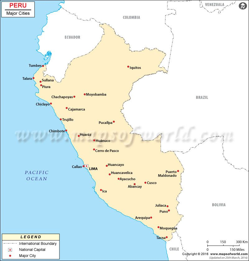 Peru Map Cities.Peru Cities Map Places To Visit Pinterest Peru Places To