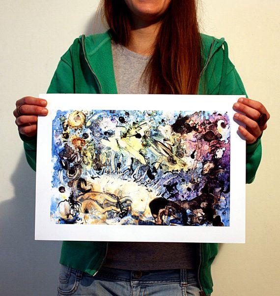 stampa digitale quadro arte dipinto astratto moderno arredamento saverio filioli