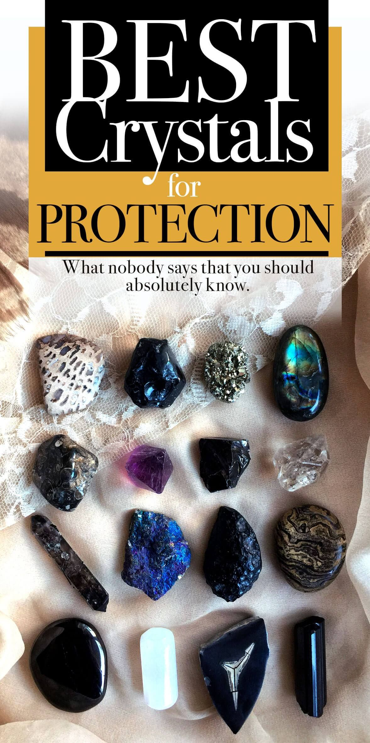 Best crystals stones for protection the true story